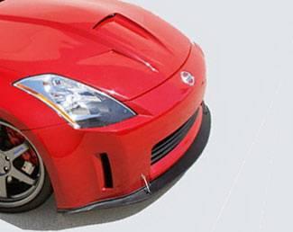 Street Scene - Nissan 350Z Street Scene Front Splitter for Stock Fascia Generation 1 - 950-70315