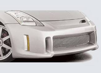 Street Scene - Nissan 350Z Street Scene Generation 1 Front Bumper Cover - 950-70317
