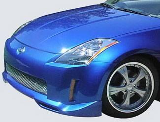 Street Scene - Nissan 350Z Street Scene Generation 3 Front Lip Spoiler - 950-70320