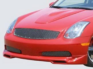 Street Scene - Infiniti G35 2DR Street Scene Generation 2 Front Lip Spoiler - 950-70335