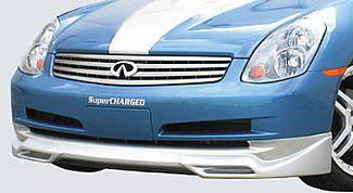 Street Scene - Infiniti G35 4DR Street Scene Generation 1 Front Lip Spoiler - 950-70340