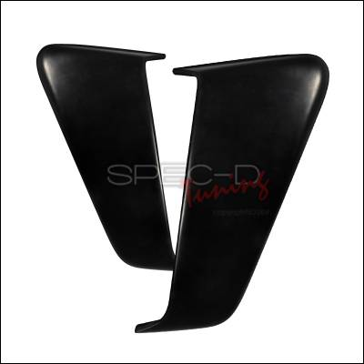 Spec-D - Ford Mustang Spec-D Side Door Scoop - Polyurethane - HSCP-MST05CE-SD