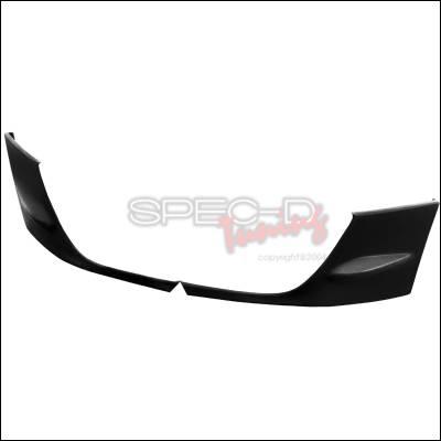 Spec-D - Subaru WRX Spec-D Sti Type Bumper Cap - LBF-BC-WRX04STI-PU