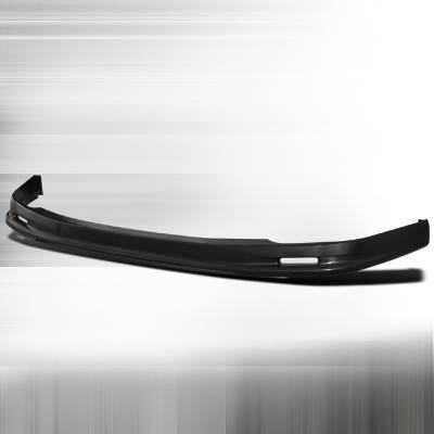 Spec-D - Honda Accord 2DR Spec-D Mugen Style ABS Plastic Front Lip - LPF-ACD982M-ABS