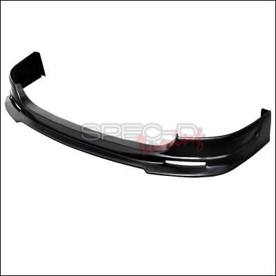 Spec-D - Honda Civic Spec-D Si Style ABS Plastic Front Lip - LPF-CV03SI-ABS