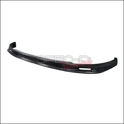 Spec-D - Honda Civic Spec-D Mugen Style Front Lip - Carbon Fiber - LPF-CV962MCF