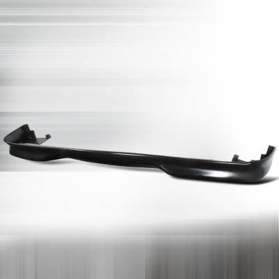 Spec-D - BMW 5 Series Spec-D Lander Style Front Lip - Polyurethane - LPF-E3997LAN-PU
