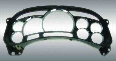 US Speedo - US Speedo Platinum Lens Chrome Gauge Rings - LEN 041