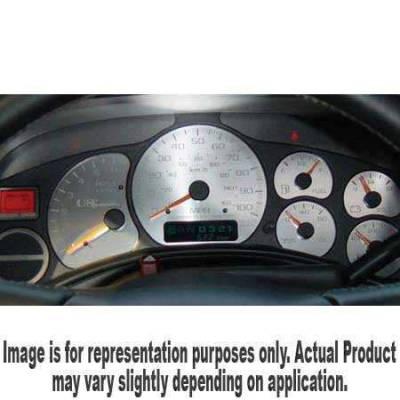 US Speedo - US Speedo Stainless Steel Gauge Face - Displays 100 MPH - Transmission Temperature - CK1000202