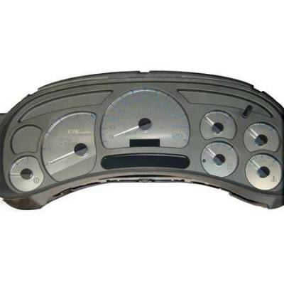 US Speedo - US Speedo Stainless Steel Gauge Face - Displays 120 MPH - Transmission Temperature - CK1200302