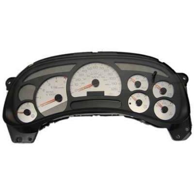 US Speedo - US Speedo Stainless Steel Gauge Face - Displays 120 MPH - Transmission Temperature - CK1200305