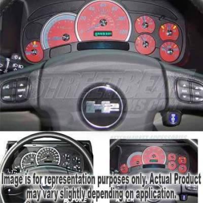 US Speedo - US Speedo Red Exotic Color Gauge Face - Displays 120 MPH - Gas - No Transmission Temperature - CK1200435