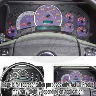 US Speedo - US Speedo Purple Exotic Color Gauge Face - Displays 120 MPH - Gas - No Transmission Temperature - CK1200437