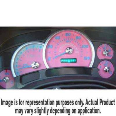US Speedo - US Speedo Pink Exotic Color Gauge Face - Displays 120 MPH - Gas - No Transmission Temperature - CK1200438