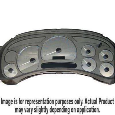 US Speedo - US Speedo Stainless Steel Gauge Face - Displays 120 MPH - Transmission Temperature - CK1200602
