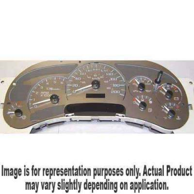 US Speedo - US Speedo Stainless Steel Gauge Face - Displays 200KPH - No Transmission Temperature - CK2000401K
