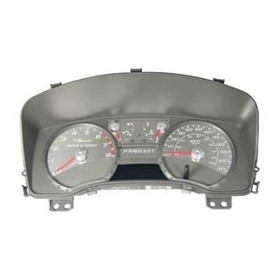 US Speedo - US Speedo Stainless Steel Gauge Face - Displays MPH - COL0401
