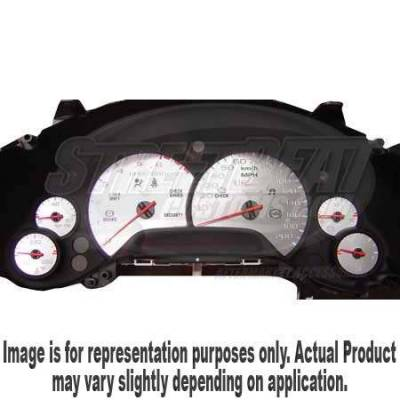 US Speedo - US Speedo Stainless Steel Gauge Face - CTS0502