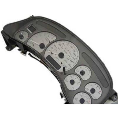 US Speedo - US Speedo Stainless Steel Gauge Face - Displays 120 MPH - Transmission Temperature - DEN12002