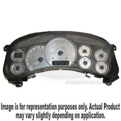 US Speedo - US Speedo Stainless Steel Gauge Face - Displays MPH - ENV0401