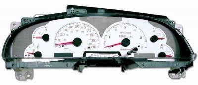 US Speedo - US Speedo Stainless Steel Gauge Face - Displays MPH - Tachometer - F1500301