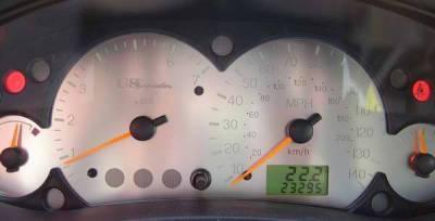US Speedo - US Speedo Stainless Steel Gauge Face - Displays Tachometer - FOC0301