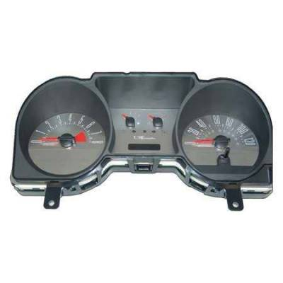 US Speedo - US Speedo Stainless Steel Gauge Face - Displays 120 MPH - 6 Gauge - MUS050602