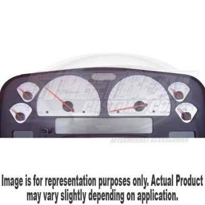 US Speedo - US Speedo Stainless Steel Gauge Face - Displays MPH - Diesel - RAM0404