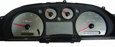 US Speedo - US Speedo Stainless Steel Gauge Face - Displays MPH - RAN0401