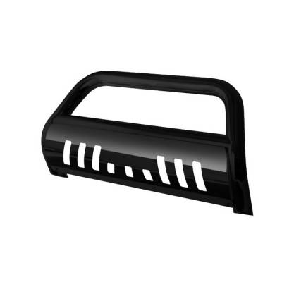 Spyder - Jeep Grand Cherokee Spyder 3 Inch Bull Bar Powder Coated Black - BBR-JG-A02G0915-BK