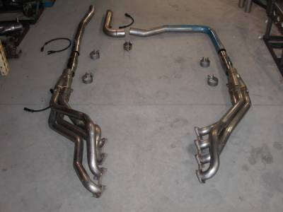 Stainless Works - Ford F150 Stainless Works Exhaust Header - 08F150HDRCAT