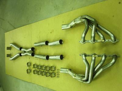 Stainless Works - Chevrolet Corvette Stainless Works Exhaust Header - C5LS103ORBT