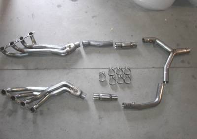 Stainless Works - Pontiac Firebird Stainless Works Exhaust Header - CA00CAT