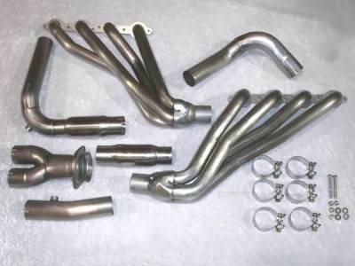 Stainless Works - Chevrolet Silverado Stainless Works Exhaust Header - CT0305OR
