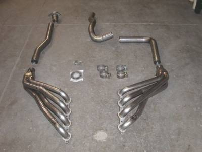 Stainless Works - GMC Sierra Stainless Works Exhaust Header - CT6-0