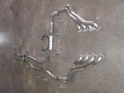 Stainless Works - Ford F150 Stainless Works Exhaust Header - FT09HDROR