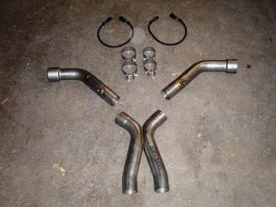 Stainless Works - Ford Mustang Stainless Works Exhaust Header - GT5X
