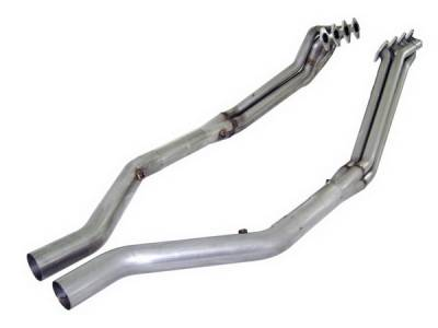 Stainless Works - Ford Mustang Stainless Works Exhaust Header - M05HOR
