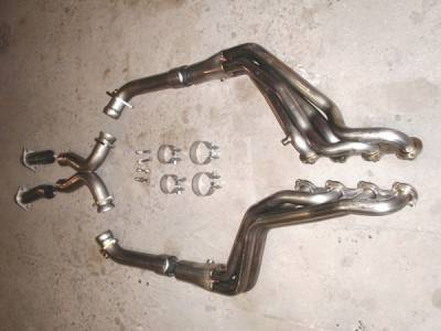 Stainless Works - Ford Mustang Stainless Works Exhaust Header - M9604OR