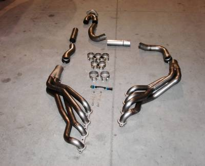 Stainless Works - Chevrolet Trail Blazer Stainless Works Exhaust Header - TBSSYOR