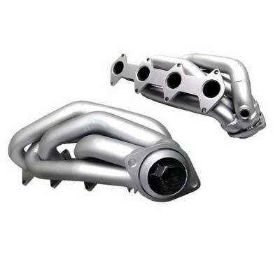 Spyder Auto - Ford Mustang Spyder Exhaust Header - Ceramic - TS-HE-FM05GT-CR