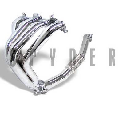 Spyder Auto - Mitsubishi Eclipse Spyder 4-1 Exhaust Header - Chrome - TS-HE-ME95NT-C
