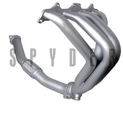 Spyder Auto - Mitsubishi Eclipse Spyder Exhaust Header - Ceramic - TS-HE-ME95NT-CR