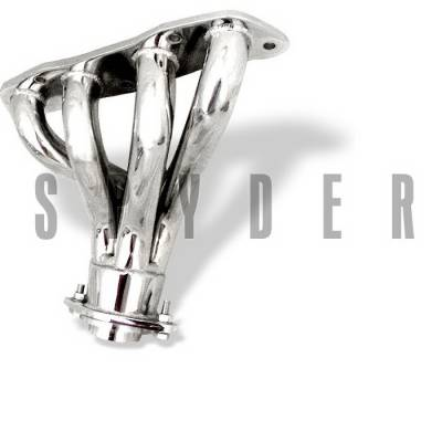 Spyder Auto - Toyota Celica Spyder Exhaust Header - Chrome - TS-HE-TCE00-GT-C