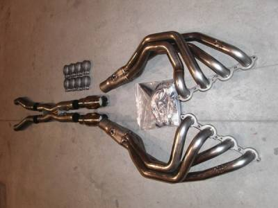 Stainless Works - Chevrolet Corvette Stainless Works Exhaust Header - ZO62CAT