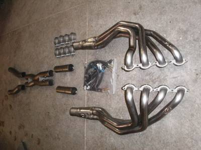 Stainless Works - Chevrolet Corvette Stainless Works Exhaust Header - ZO62OR