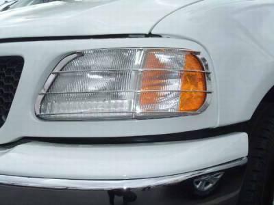 TFP - TFP Stainless Steel Headlight Insert Guard - 930