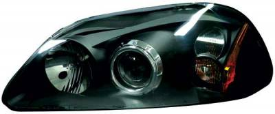 TYC - TYC Projector Headlights with Black Housing - 80613340