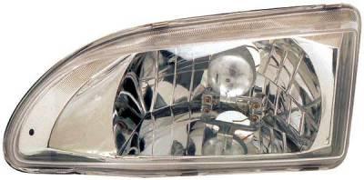 TYC - TYC Euro Clear Headlights - 80622501