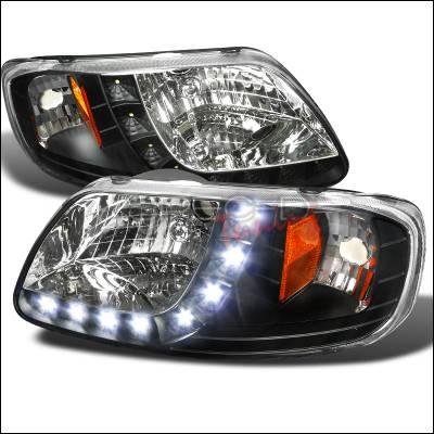 Spec-D - Ford F150 Spec-D Design LED Headlight 1PC - 2LH-F150971PCJM-RS
